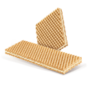 Wafer for ice cream